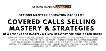 Options Trading AUTHORITY Covered Calls & Strategies Monthly