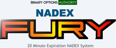 NADEX FURY 20 Minute NADEX Binary Options System