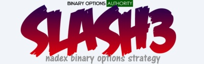 SLASH3 NADEX 5 Minute Binary Options Expiration Strategy