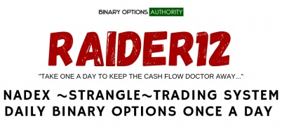 RAIDER12 NADEX Strangle Binary Options System for the NADEX Daily Binary Option Expiration