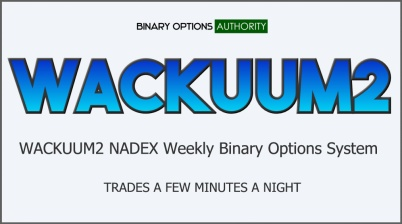 WACKUUM2 NADEX Weekly Binary Options System