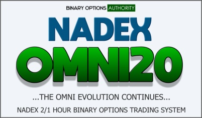 NADEX OMNI20 1 Hour NADEX Binary Options System