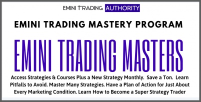 Emini MASTERS - Super Strategy Trader Training Program