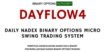DAYFLOW4 DAILY NADEX Binary Options MICRO SWING TRADING System