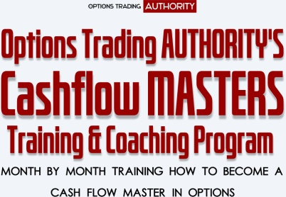 Options Trading AUTHORITY CASHFLOW MASTERS Program Trial