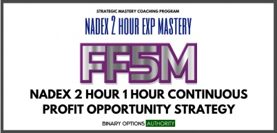 FF5M NADEX 2 Hour 1 Hour Expiration Strategy & System