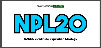 NPL20 NADEX 20 Minute Expiration Strategy