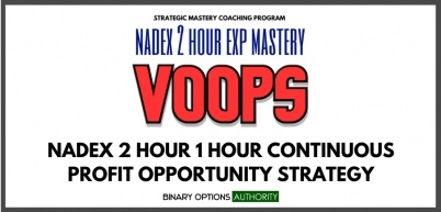 VOOPS NADEX 1 Hour Exp Strategy and System