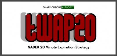 TWAP20 NADEX 20 Minute Expiration Strategy