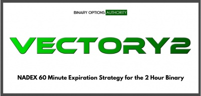 VECTORY2 NADEX 60 Minute Expiration Strategy for the 2 Hour Binary