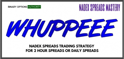 WHUPPEEE NADEX Spreads Trading Strategy Intro Setup Entries Exits